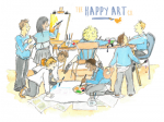 Teacher INSET/ Training Workshop http://www.happyartcompany.co.uk/