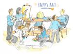 Art Workshop http://www.happyartcompany.co.uk/