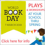 Theatre for schools - World book day